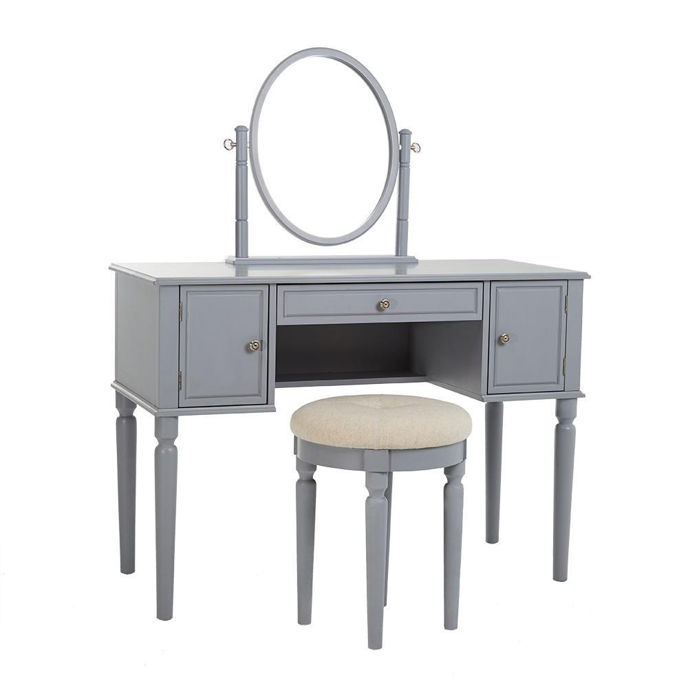 """Masă de toaletă Charlotte """"Grey"""" Savoy"""