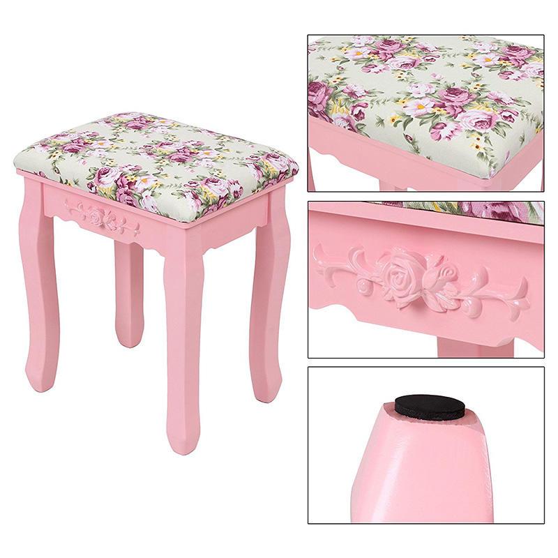 """Masă de toaletă Madame """"Pink"""" Clotilde"""