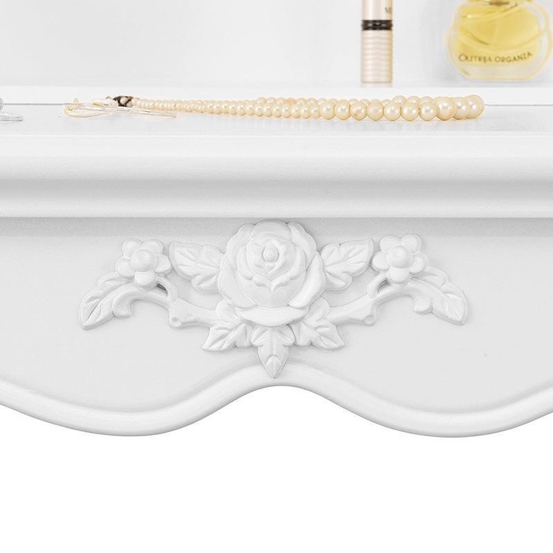 Masă de toaletă Rachel Blanche