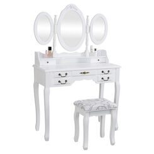 """Masă de toaletă Anne """"White"""" Henriette"""